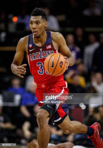 Arizona's Alonzo Trier during a game against Colorado on January 06 2018 at the Coors Events Center in Boulder Co Colorado won the game 8077