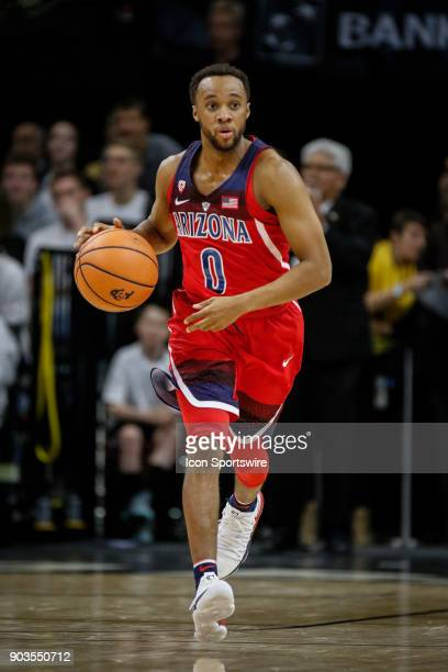 Arizona's Parker JacksonCartwright during a game against Colorado on January 06 2018 at the Coors Events Center in Boulder Co Colorado won the game...
