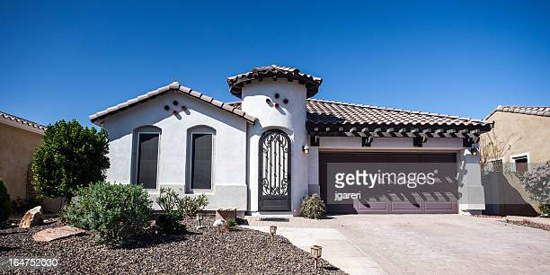 Arizona-style house design common to the region