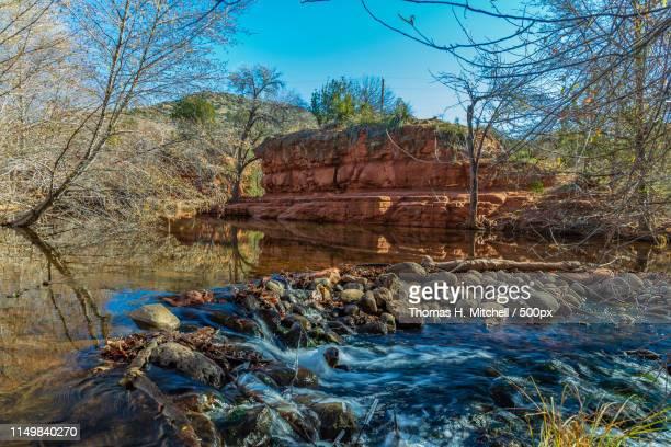 arizona-yavapai county-wet beaver creek - brook mitchell bildbanksfoton och bilder