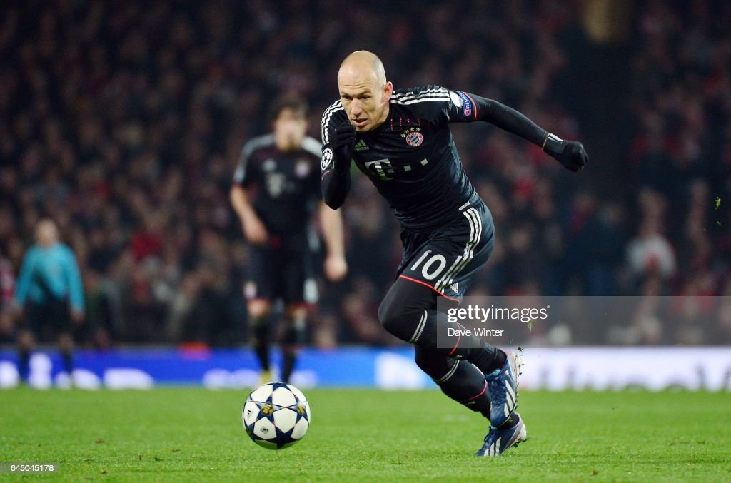Arjen robben pictures getty images arjen robben arsenal bayern munich 18finale aller champions league voltagebd Choice Image