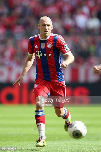 Arjen ROBBEN FC Bayern München deutsche Fussball Meisterschaft des FC Bayern München 1 Bundesliga Fussball FC Bayern München VfB Stuttgart Saison...