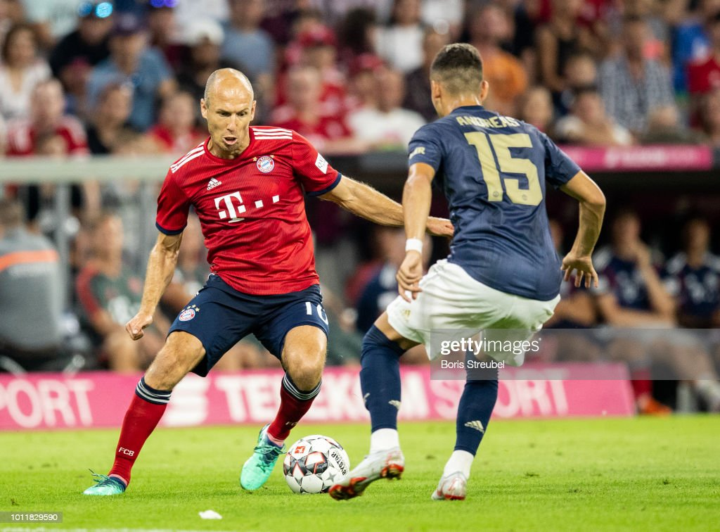 Bayern Muenchen v Manchester United - Friendly Match : News Photo