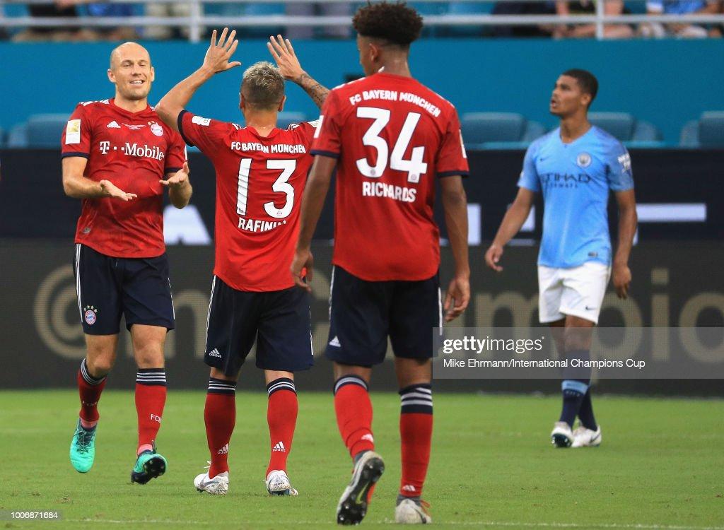 FC Bayern Munich v Manchester City - International Champions Cup 2018 : News Photo