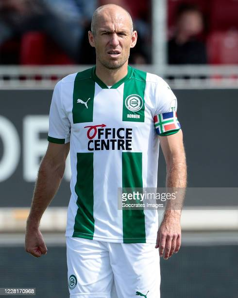 Arjen Robben of FC Groningen during the Club Friendly match between Almere City v FC Groningen at the Yanmar Stadium on August 22 2020 in Alemere...
