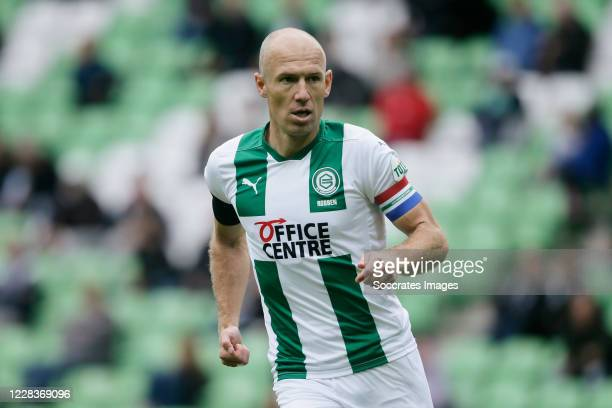 Arjen Robben of FC Groningen during the Club Friendly match between FC Groningen v Arminia Bielefeld at the Hitachi Capital Mobility Stadion on...