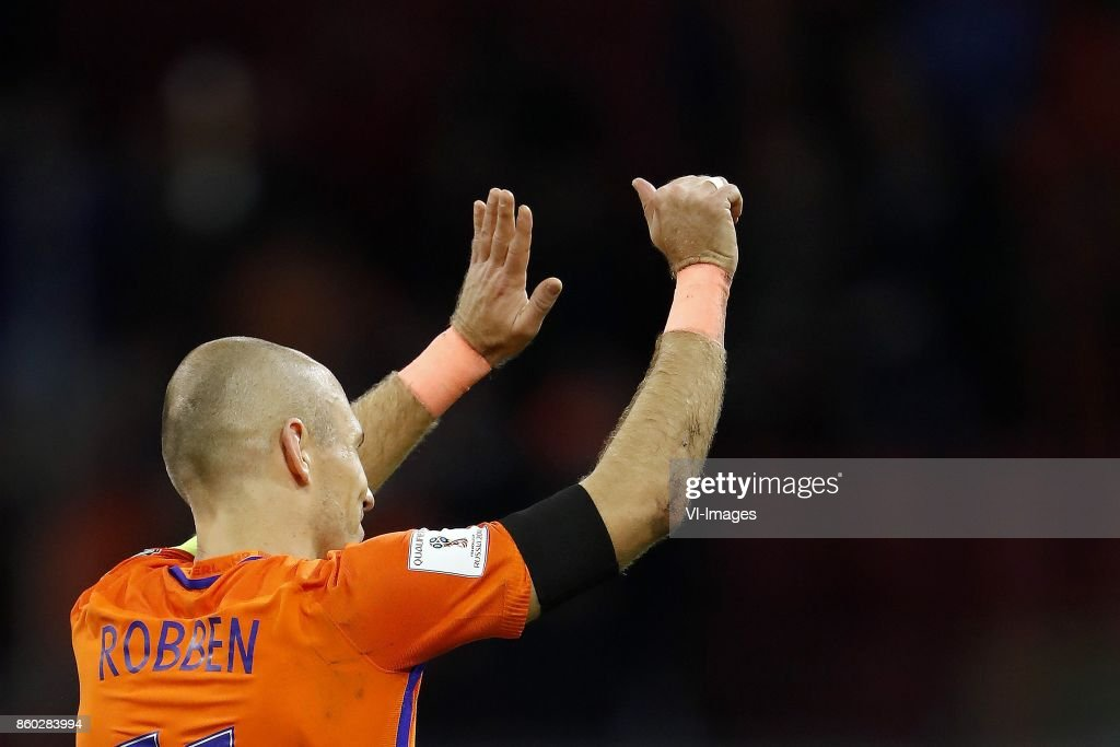 FIFA World Cup 2018 qualifying group A'Netherlands v Sweden' : News Photo