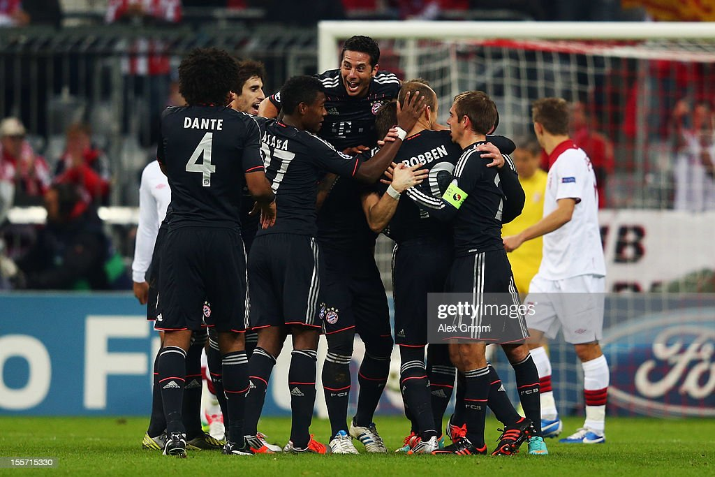 FC Bayern Muenchen v OSC Lille - UEFA Champions League