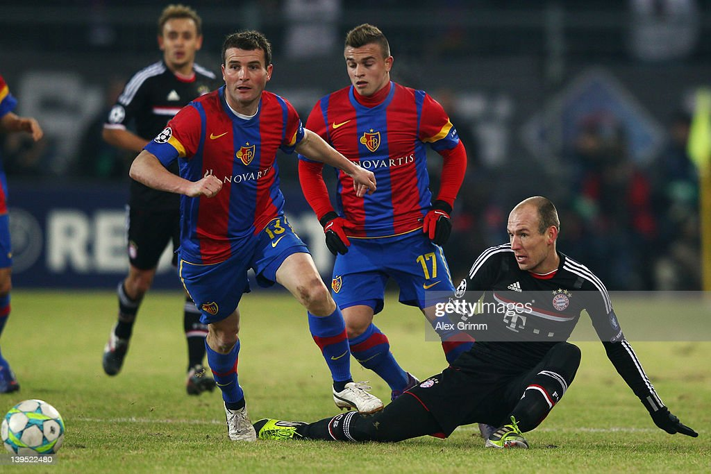 FC Basel 1893 v FC Bayern Muenchen - UEFA Champions League Round of 16