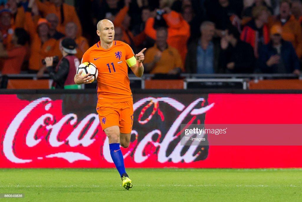 Netherlands v Sweden - FIFA 2018 World Cup Qualifier : Foto di attualità