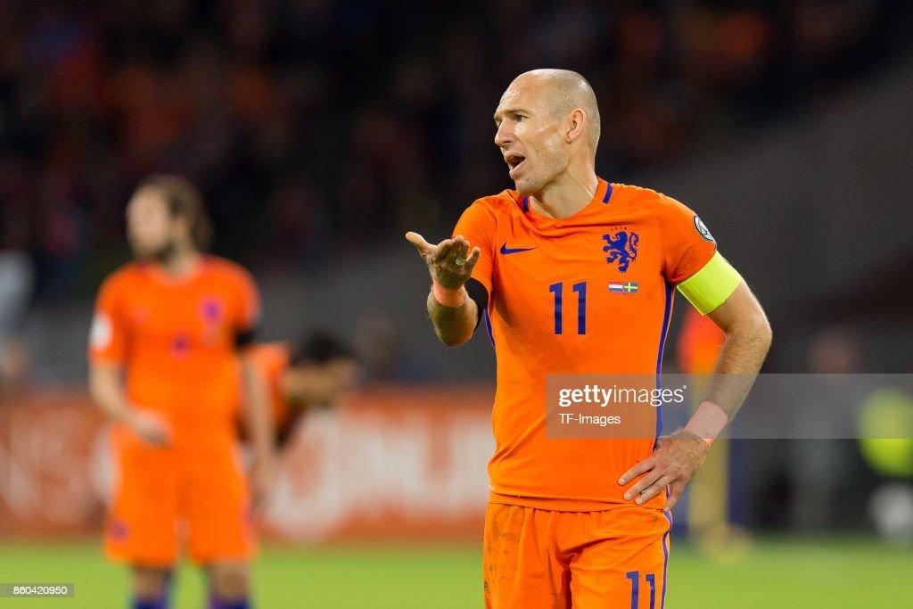 Netherlands v Sweden - FIFA 2018 World Cup Qualifier : ニュース写真