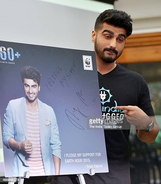 Arjun Kapoor appointed as the brand ambassador of World Earth Hour in Mumbai