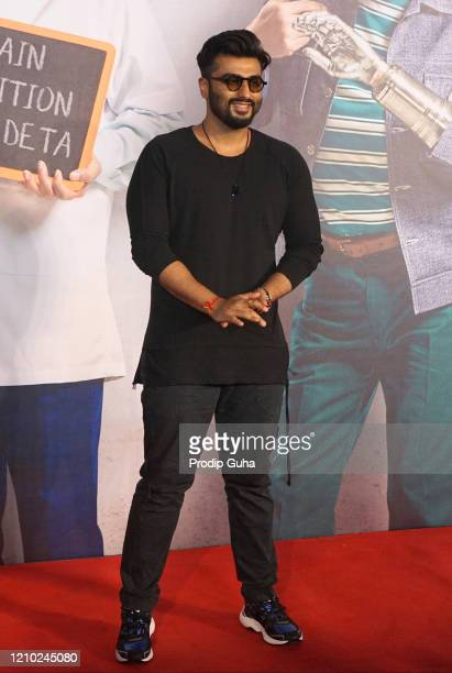 Arjun Kapoor attends the film screening Kaamyaab on March 03 2020 in Mumbai India