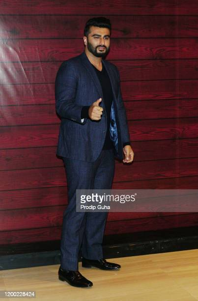 Arjun Kapoor attends the Javed Akhtar's 75th birthday celebration on January 17 2020 in Mumbai India
