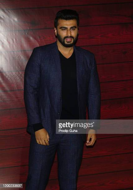 Arjun Kapoor attends the Javed Akhtar's 75th birthday celebration on January 17 2020 in MumbaiIndia