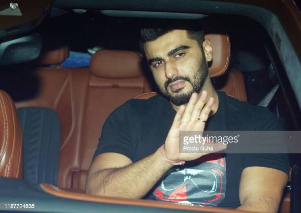 Arjun Kapoor attends the party for Katy Perry hosted by Karan Johar on November 14 2019 in Mumbai India