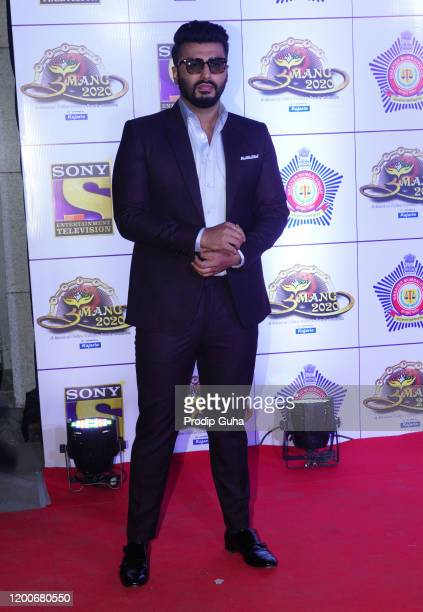 Arjun Kapoor attends the Umang 2020 by Mumbai police welfare on January 192020 in Mumbai India