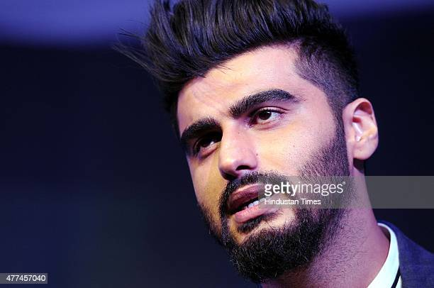 Arjun Kapoor Bollywood actor and Philips India's brand ambassador for Bodygroomers and Trimmers during the launch of Philips Body Grooming electronic...