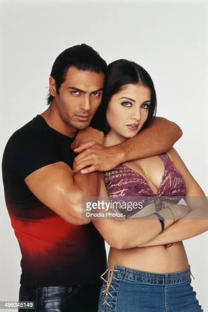 Arjun Rampal and Celina Jaitly