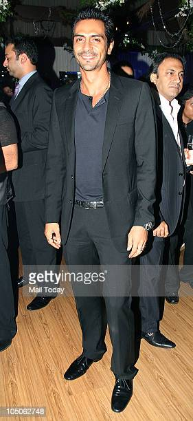 Arjun Rampal at Day II of the HDIL Couture fashion week in Mumbai on October 7 2010