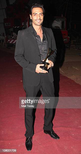 Arjun Rampal at the Chevrolet Apsara Awards in Mumbai