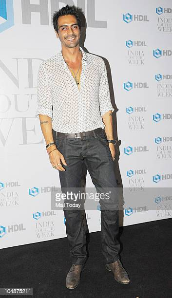 Arjun Rampal at the HDIL Couture Week 2010 party in Mumbai on Tuesday October 5 2010