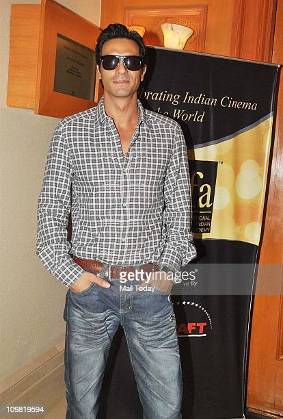 Arjun Rampal at the voting weekend for The Indian International Film Awards at Hotel Marriott in Mumbai on March 4 2011