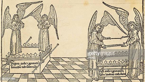 Ark of the Covenant Engraving 16th century