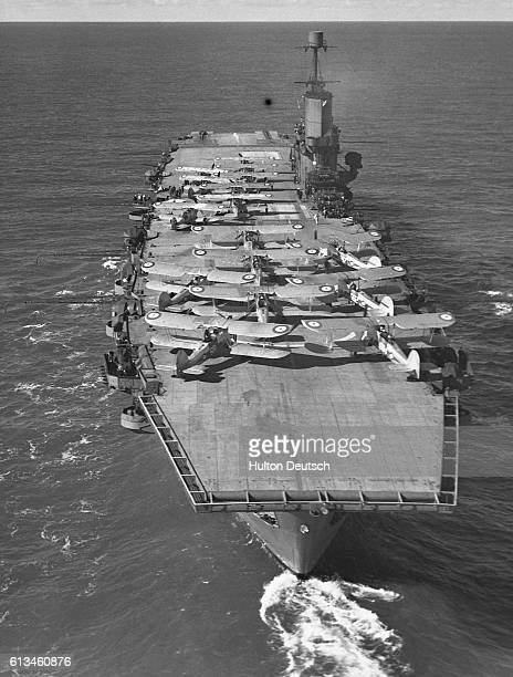 HMS Ark Royal Aircraft Carrier