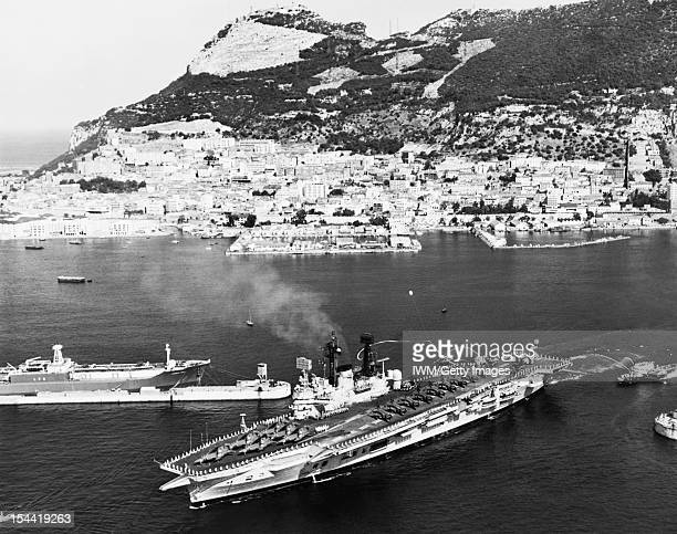 HMS Ark Royal IV 19501978 HMS ARK ROYAL leaves Gibraltar for the last time She is wearing her paying off penant 2 October 1978