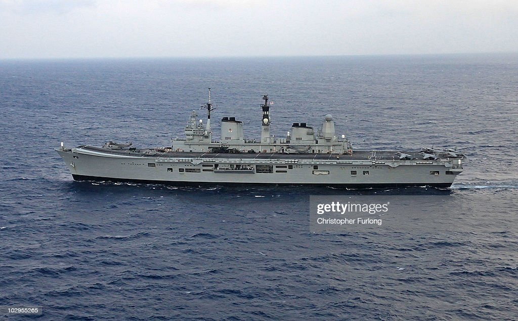 Life On Board HMS Ark Royal : News Photo
