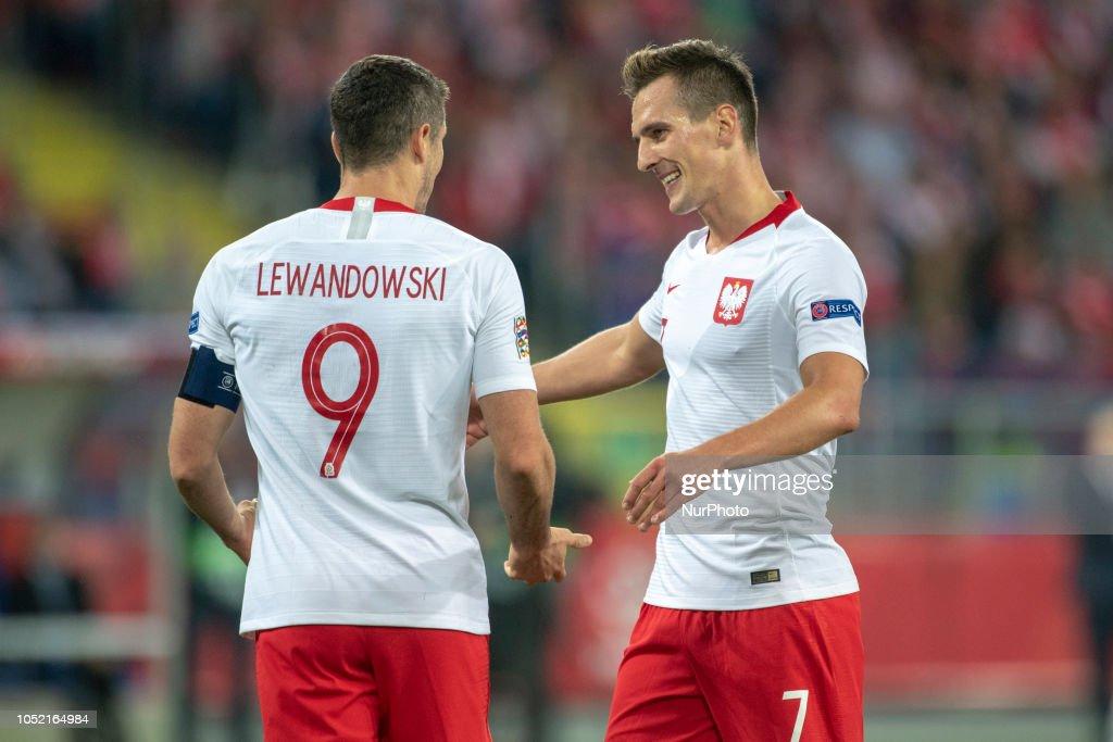 Poland v Italy-UEFA Nations league : Foto di attualità