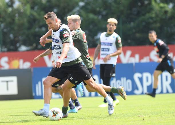 ITA: SSC Napoli Pre-Season Training Camp
