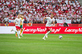 arkadiusz milik p during international friendly