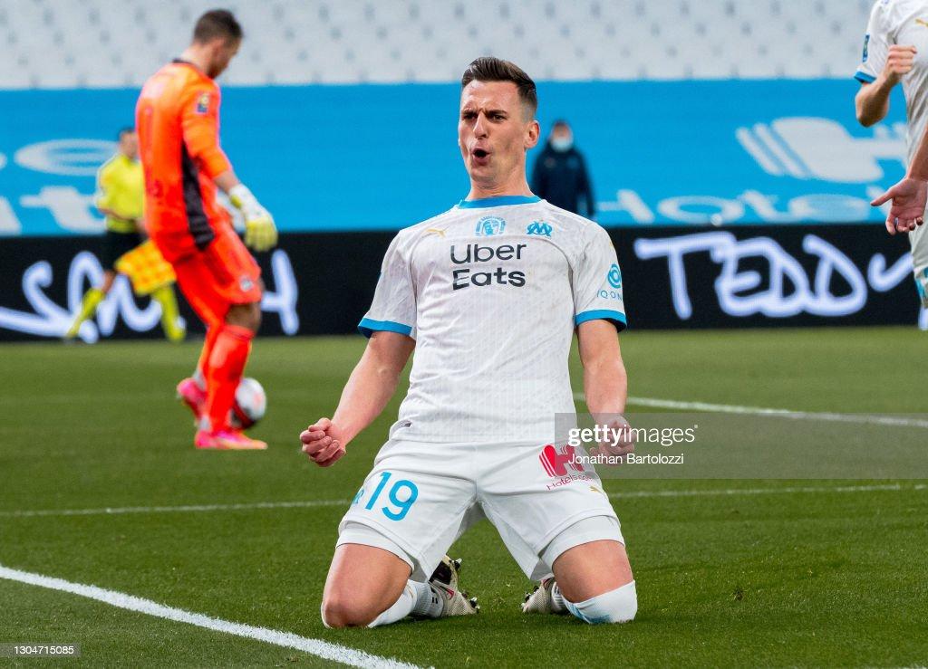 Olympique Marseille v Olympique Lyon - Ligue 1 : Nachrichtenfoto