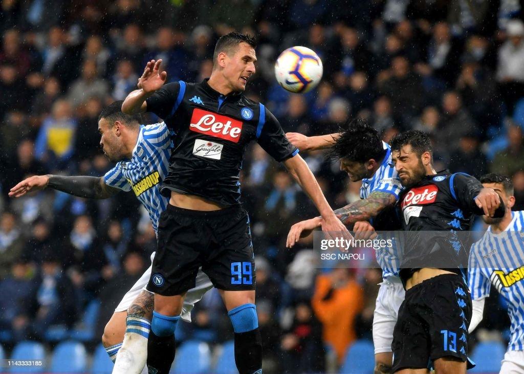 Spal v SSC Napoli - Serie A : News Photo