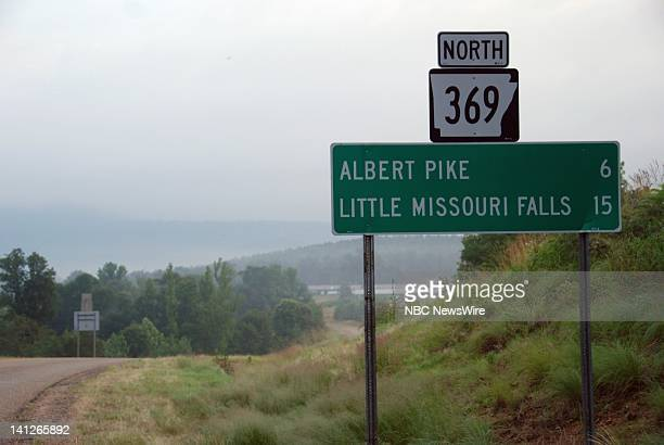 NBC NEWS Arkansas Flash Floods Pictured Images of terrain around Arkansas flash floods that claimed 20 lives at the Albert Pike Campground near...