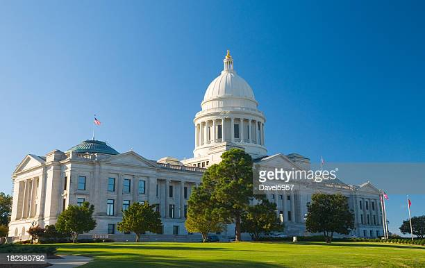 arkansas state capitol - arkansas stock photos and pictures