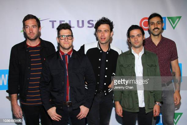 Arkells arrive to WE Day Toronto and the WE Carpet at Scotiabank Arena on September 20 2018 in Toronto Canada