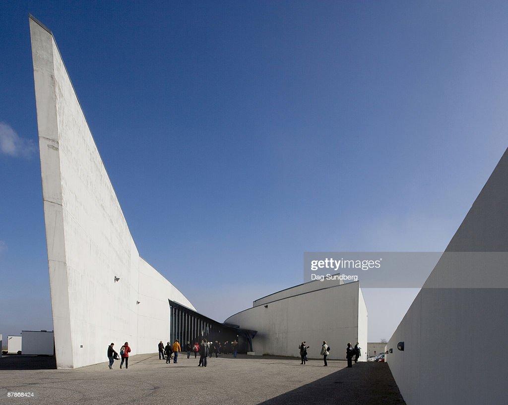 Arken Museum Of Modern Art Copenhagen Denmark High Res Stock