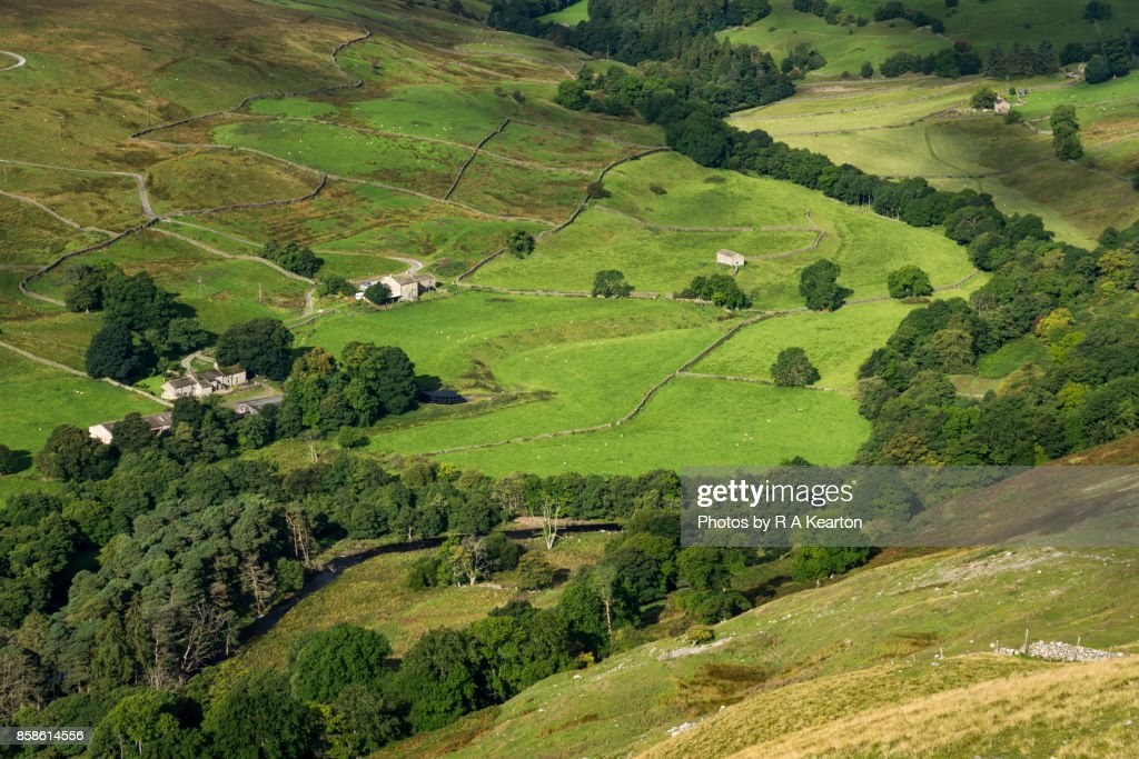 Arkle Beck in the Yorkshire Dales, England : Stock-Foto