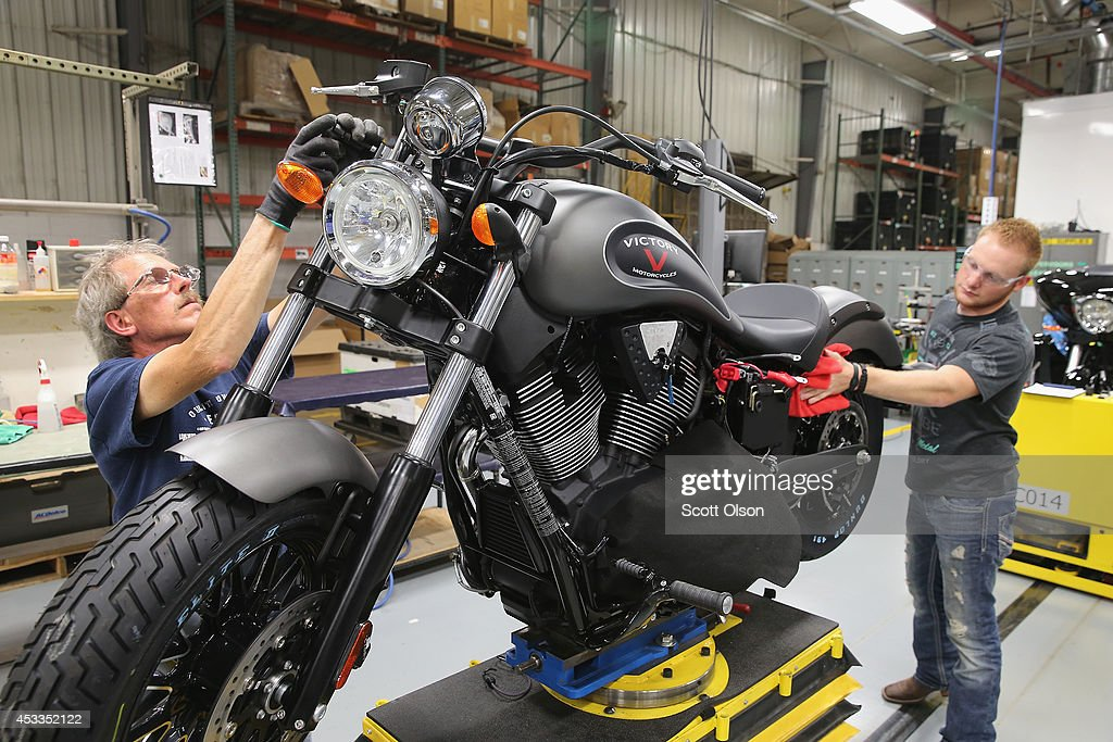 Historical Indian Motorcycle Company Makes A Comeback In U.S. : News Photo