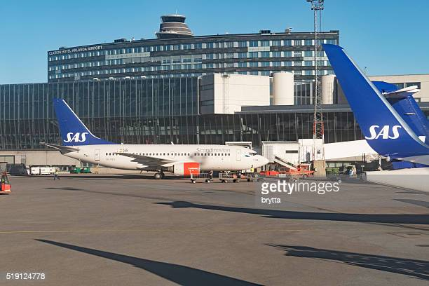 Arlanda airport in Stockholm,Sweden