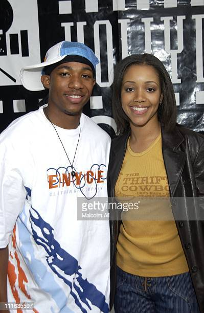 Arlen Escarpeta and Chrystee Pharris during Hollywood Black Film Festival '2 Fast 2 Furious' Premiere Arrivals at Harmony Gold Preview House in...