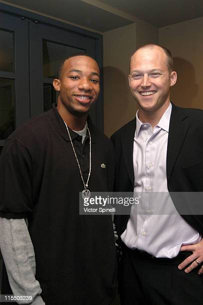Arlen Escarpeta and Sean Patrick Murphy during 'Show Tell' Los Angeles Screening at Ince Theater in Culver City California United States