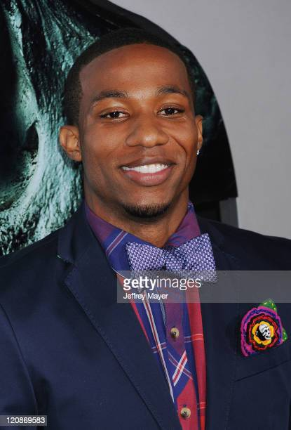 Arlen Escarpeta arrives at the 'Final Destination 5' Los Angeles Premiere on August 10 2011 at Grauman'S Chinese Theatre in Hollywood California