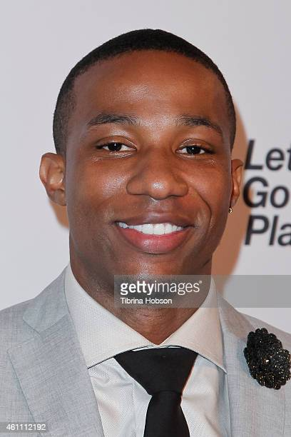 Arlen Escarpeta attends the world premiere of Lifetime's 'Whitney' at The Paley Center for Media on January 6 2015 in Beverly Hills California