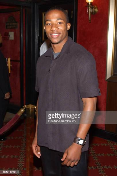 Arlen Escarpeta during Matrix Reloaded New York Premiere Inside Arrivals at Ziegfeld Theater in New York City New York United States