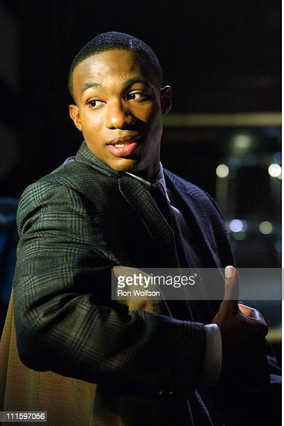 Arlen Escarpeta during On the Set of 'American Dreams' at Sunset Gower Studios in Hollywood CA United States