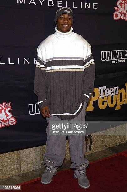 Arlen Escarpeta during Teen People and Universal Records Honor Nelly as the 2002 Artist of the Year Arrivals at Ivar in Hollywood California United...